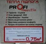 теплый пол profi therm eko mat