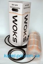 Нагревательный мат Woks для теплого пола. Цена