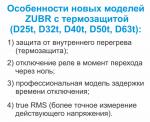 ZUBR D32t