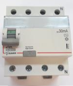 Дифавтомат-Zuver DXLE-65. 25A. 30mA. 4P. 6kA. AC
