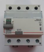 Дифавтомат-Zuver DXLE-67. 63A. 30mA. 4P. 6kA. AC.