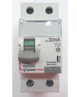 Дифавтомат-Zuver DXLE-63. 40A. 30mA. 2P. 6kA. AC