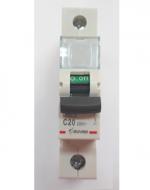 Автоматический выключатель Zuver DX-63. 1P. 20A. 6kA. AC