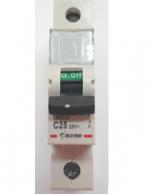 Автоматический выключатель Zuver DX-63. 1P. 25A. 6kA. AC