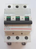 Автоматический выключатель Zuver DX-63. 3P. 16A. 6kA. AC