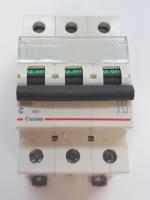 Автоматический выключатель Zuver DX-63. 3P. 20A. 6kA. AC
