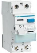 УЗО Hager CD240J 2x40 A, 30 mA, A, 2м