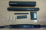 Комплект муфт на саморегулирующийся нагревательный кабель