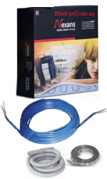 | Теплый пол | Кабель нагревательный одножильный Nexans TXLP/1 1000 Вт, 17 Вт/м
