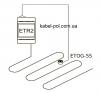 ETR2-1550 терморегулятор схама
