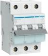 Автоматический выключатель-Hager MB316A In=16А, 3п, В, 6 kA, 3м