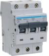 Автоматический выключатель-Hager NDN325 In=25 А, 3п, D, 10 kA, 3м