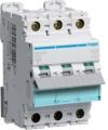 Автоматический выключатель-Hager NDN363 In=63 А, 3п, D, 10 kA, 3м