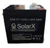 Аккумуляторная батарея SolarX SXA 5-12 (технология AGM)