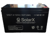 Аккумуляторная батарея SolarX SXA 7,2-12 (технология AGM)