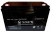 Гелевый аккумулятор SolarX SXG 100-12