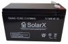 Аккумуляторная батарея SolarX SXA 12-12 (технология AGM)