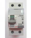 Дифавтомат-Zuver DXLE-63. 25A.30mA. 2P. 6kA. AC.