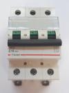 Автоматический выключатель Zuver  DX-63. 3P. 16A. 6kA. AC.