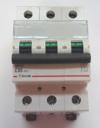 Автоматический выключатель Zuver  DX-63. 3P. 50A. 6kA. AC.