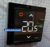 Терморегулятор DEVIreg Smart Pure Black Wi-Fi