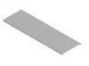Крышка кабельного лотка 300 мм 3000 мм Толщина 0.7 мм PlechoFLEX