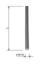 Молниеприемник (с ровным концом) ø 18 x 1 м HDG KovoFlex