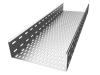 Лоток перфорированный 100х100х3000 мм PlechoFLEX.