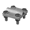 Соединитель полоса-проволока максимальная полоса 30x4 HDG KovoFlex